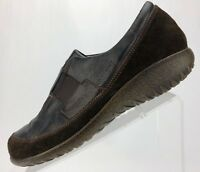 Naot Loafers - Brown Leather Comfort Casual Shoes Women's Size 38 US 7/7.5
