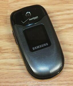 Samsung Gusto SCH-U360 - Black & Gray (Verizon) Cell Phone Only **READ**