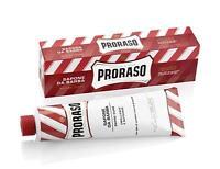 Proraso Shaving Cream,Sandalwood, 150ml tube - RED