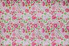 LIBERTY OF LONDON Tana Lawn Sweet Pink D'Anjo By The FAT QUARTER