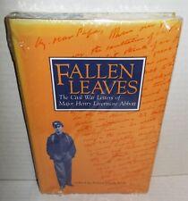 BOOK ACW Fallen Leaves Memoirs of Major Abbott 20th Mass Vol Inf Shrink Wrap