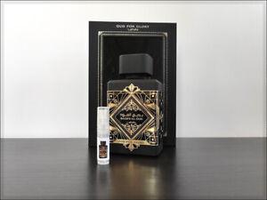 Lattafa Bade'e Al Oud (Oud For Glory) 2ml Sample Decant Eau the Parfum greatness
