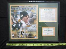 Framed Brett Favre Wall Plaque - Green Bay Packers