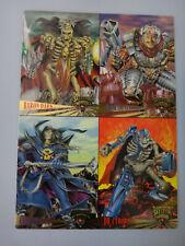 Fleer Ultra 1995 Skeleton Warriors Premiere Edition Promo Sheet Uncut 4 Card NEW