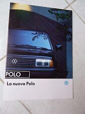 Volkswagen Polo CL GT 1991 catálogo folleto prospekt Catálogo comercial