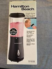 BLACK HAMILTON BEACH SINGLE SERVE BLENDER W/ LID 51101B PROTEIN SHAKE SMOOTHIE