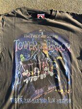 New listing Vtg Disney Twilight Zone Tower of Terror Shirt - Mickey Minnie Goofy Large