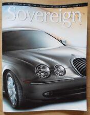 JAGUAR SOVEREIGN orig 1999 International Magazine Brochure - Edition 25