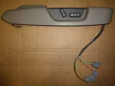 1999 VOLVO S80 FRONT SEAT CONTROL ADJUST SWITCH W/ BEZEL PASSENGER SIDE TAN OEM