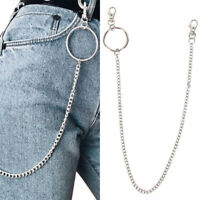 Big Ring Wallet Waist Chain Punk Trousers Hipster HipHop Wallet Key Chains Jean·