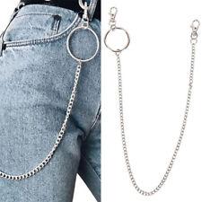 Porte-clés Big Ring Porte-clés Chaîne Ceinture Punk Pantalon Hipster HipHop ZH