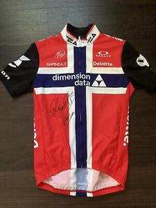 Dimension Data Edvald Boasson Hagen Signed jersey tour de france Norway Cycling