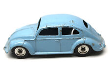 Dinky Toys Volkswagen VW Beetle Sedan Light Blue 1:43 Meccano LTD Made England