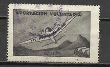 419C -SELLO FISCAL DE AVIACION HUERFANOS DEL EJERCITO DEL AIRE 0,50 PESETAS,APOR