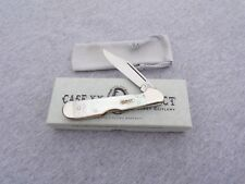 CASE XX * SELECT SERIES 1998 GENUINE MOTHER OF PEARL MINI COPPERLOCK KNIVES rw