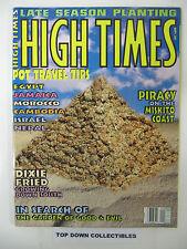 High Times Vintage   September 1995  Lock 'Em Up Joe/Pieacy On The Miskito Coast