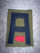 WWI US Army First Army Trench Mortar patch wool