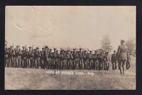 Canada 1915 Sussex Camp 64th Regiment Military Real Photo Postcard RPPC Tobique