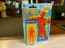 "Marvel Legends 4"" Kenner Retro Style 3.75 Inch Figure NIP - 2021 THE HUMAN TORCH"