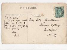 Miss Tita Grantham Ebome Cottage Tatsfield Surrey 1904 126a