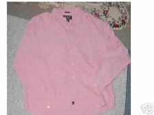 Abercrombie Schofield Cobble Oxford Shirt DARK PINK XL