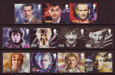 GREAT BRITAIN 2013 DOCTOR WHO SET OF 11 FINE USED