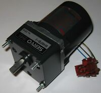 Japan Servo Induction Motor w/ Capacitor - 115 V - 20 Watts - 285 RPM - 1:6 Gear