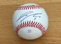 Jeren Kendall Los Angeles Dodgers 2017 1st Rd Pick Signed Autograph Baseball