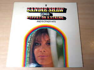 EX/EX !! Sandie Shaw/Sings Puppet On A String/1967 World Stereo LP