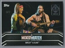2019 Topps WWE Transcendent VIP Bayley & Elias 2018 Mixed Match 1/1