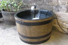 """Lined 63cm diameter (25"""")  self contained fountain water feature -ideal for fish"""