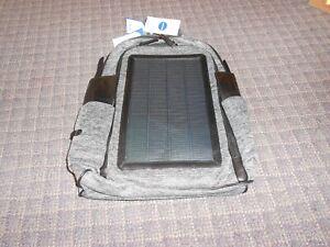 Hanergy Solar Power Backpack 7W Thin Film Solar Panel Business  Travel Bag-F5