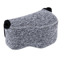 JJC Grey Mirrorless Camera Pouch Case for Panasonic DMC-LX100 US Seller