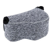 JJC Grey Mirrorless Camera Pouch Case for Canon PowerShot SX510 HS SX420 IS