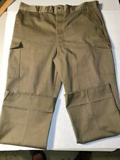 Official Boy Scouts Of America Olive Green Cargo Pants 40x28
