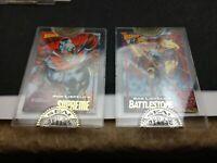 WIZARD MAGAZINE 1992 SEALED GOLD PROMO CARDs Rob Liefeld's Supreme & Battlestone