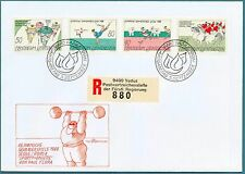 LIECHTENSTEIN - 1988 - Olimpiadi di Seul. Pionieri dello sport - (MR)