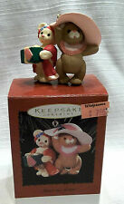 1996 SISTER TO SISTER HANDCRAFTED HALLMARK KEEPSAKE ORNAMENT NEW IN BOX