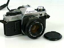 Vintage Canon AE-1 35mm Film Camera with FD 50mm F1.8 Lens   |57