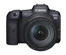 Canon EOS R5 45.0MP Mirrorless Camera - Black (RF 24-105mm f/4 L IS USM Lens...