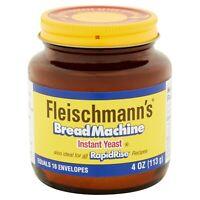 Fleischmann's Classic Bread Machine Instant Yeast RapidRise 4 oz.Quick Ship
