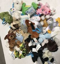 Webkinz Kinz-Klip 10-Plush Random Toy Lot With Online Codes To Love Forever