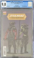 Star Wars: The High Republic #1 CGC 9.8 1:10 Blanche Variant 1st Kreeve Trennis