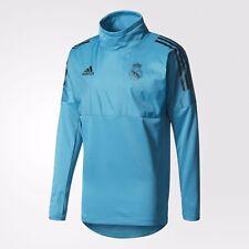 Adidas Real Madrid UEFA Campeones Liga Híbrido Entrenamiento Top 2017/18 Azul