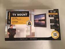 "NEW AVF Unimax Low Profile TV Wall Mount 12-32"""