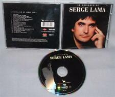 CD SERGE LAMA Le Meilleur de NEAR MINT