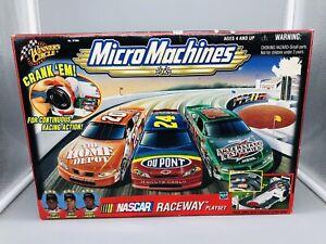 1999 Galoob Micro Machines NASCAR Winners Circle Race Track Raceway Play Set