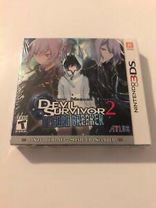Shin Megami Tensei: Devil Survivor 2 Record Breaker Launch Edition 3DS NEW