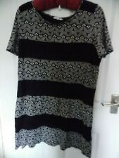 SIZE 16 SHORT SLEEVED TUNIC TOP ~ THE WHITE STUFF