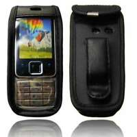 Smartphone Case for Nokia 6300 Leather-Case with belt clip Protective Cover in b